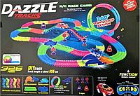 Детский игрушечный трек для машинок на пульте управления Dazzle Tracks 326 деталей   Конструктор трасса