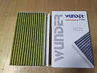"""Фильтр салона (вентиляции кабины) RENAULT MEGANE III 1.2-2.0 2008> угольный """"WUNDER"""" WPK-811 - Турция"""