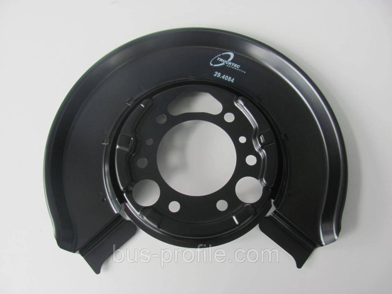 Защита колодок ручника MB Sprinter/VW LT 96-06 (однокатк.) L=P — TRUCKTEC AUTOMOTIVE — 02.35.365
