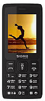 Мобильный телефон Sigma X-Style 34 NRG Black Гарантия 12 месяцев