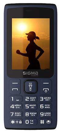 Мобильный телефон Sigma X-Style 34 NRG Blue Гарантия 12 месяцев, фото 2