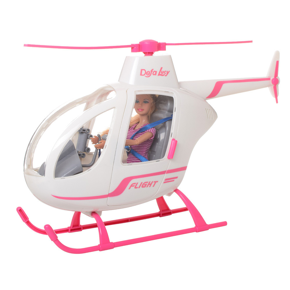 Кукла Defa Lucy вертолет 8422-BF шарнирная