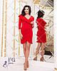 """Коктейльное платье """"Sindy""""  Красный, фото 3"""