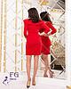"""Коктейльное платье """"Sindy""""  Красный, фото 2"""