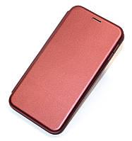 Чeхол книжка Xiaomi Redmi Note 8 Pro бордо G-Case Elite