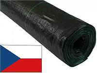 Агроткань 100г/кв.м 4,2м х 100м AGROJUTEX, чёрная, мульчирующая, полипропиленовая JUTA (Чехия)