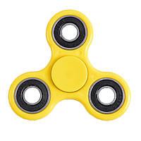 Спиннер вертушка spinner спинер Антистресс Metal Yellow
