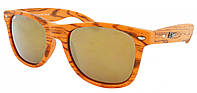 Стильные солнцезащитные очки Beach Force Wayfarer BF506K 52-20-147 чехол
