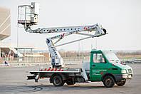 Автовишка Колінчато-Телескопічна 19 Метрів (Iveco)
