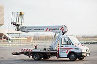 Автовишка Телескопічна 20 Метрів (Iveco)