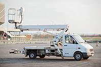 Автовишка Телескопічна 20 Метрів (Mercedes)