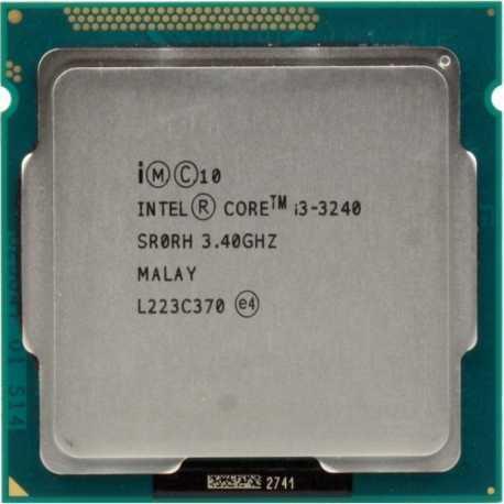 Процессор, Intel Core i3-3240, 4 ядра, 3.4 гГц