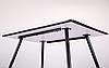 Стол обеденный Bronx 120*80*75 черный/МДФ дуб шервуд TM AMF, фото 4