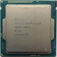 Процессор, Intel Core i3-4130, 4 ядра, 3.4 гГц