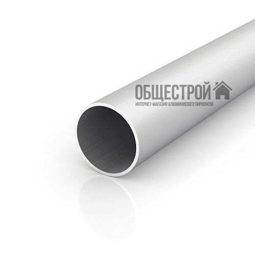 Алюминиевая труба круглая профильная 100х2.5 анод