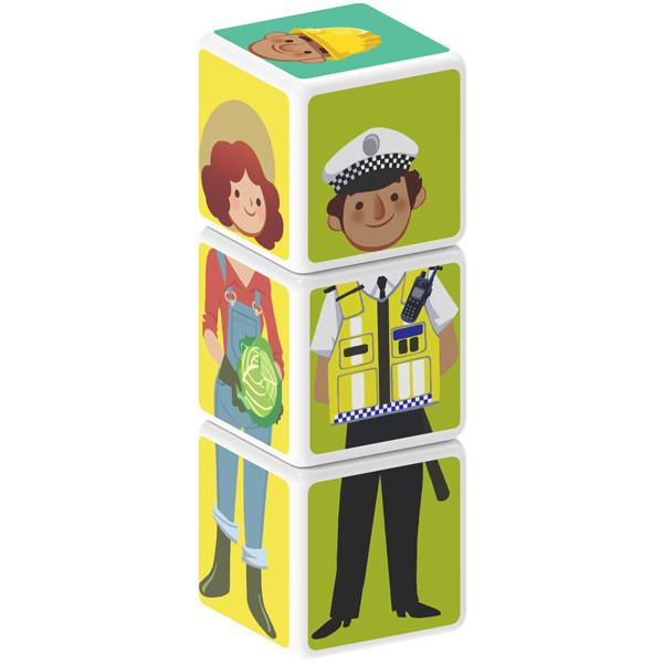 Geomag MAGICUBE Jobs 3 cubes | Магнитные кубики Професія 112MC
