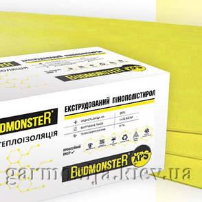 Экструдированный пенополистирол  BudMonster XPS 1200x550x30 мм, фото 2