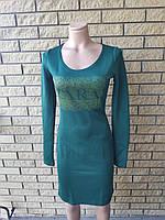 Платье женское  стрейчевое высокого качества GENNY WAY, Турция