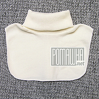 Детская манишка 1 2 3 4 года шарф снуд хомут горловина горлышко для девочки детей ребёнку 5061 Бежевый