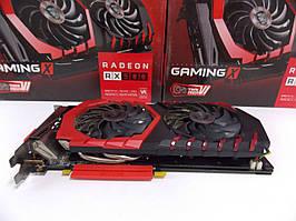 Видеокарта MSI RX 580 (4Gb/DDR5/256bit) RX 580 GAMING X 4G БУ