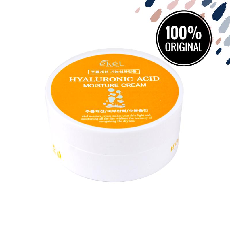Увлажняющий крем для лица с гиалуроновой кислотой EKEL Hyaluronic Acid Moisture Cream, 100 мл