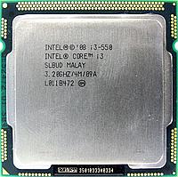 Процессор, Intel Core i3-550, 4 ядра, 3.06 гГц