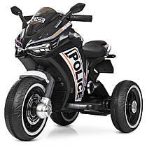 Детский мотоцикл M 4053-2 Черный Police