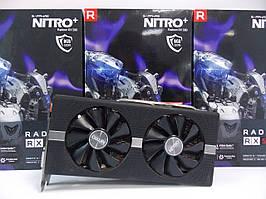 Видеокарта Sapphire RX 580 Nitro+ (8Gb/DDR5/256bit) 11265-01-20G БУ