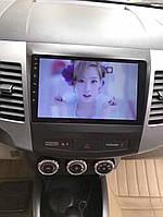 Штатная магнитола Mitsubishi Outlander 2008-2014 г.на базе Android 8.1 Экран 9 дюймов Память 1/16 Гб