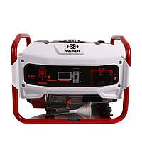 Генератор бензиновый WEIMA WM2500 (2,5 КВТ, 1 ФАЗА, РУЧНОЙ СТАРТ)(белый)