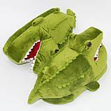 Мягкие тапочки кигуруми Крокодил  Код 10-2615, фото 2