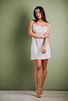 Шелковый комплект на утро невесты: сорочка и халат, фото 3