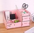 Комод настольный для косметики, украшений, фурнитуры Розовый, фото 2