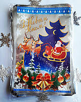 Новогодняя полипропиленовая упаковка на конфеты