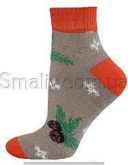 Шкарпетки оптом жіночі махрові на гумці