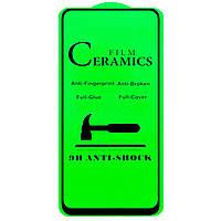 Гибкое стекло Ceramics для Samsung Galaxy A80 / A90 2019 (Black)