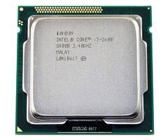 Процессор, Intel Core i7-2600, 8 ядер, 3.8 гГц