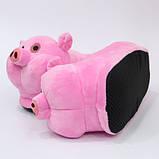 Мягкие тапочки кигуруми Свинка  Код 10-2705, фото 3