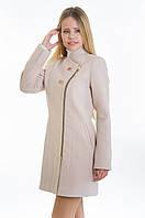 Пальто женское №12 (бежевый)