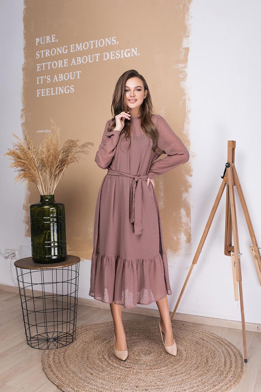 Платье LiLove 035-2 42-44 бежевый