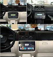 Штатная магнитола Skoda Fabia 2008-2014 на базе Android 8.1 Экран 10дюймов Память 1/16 Гб
