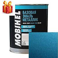 Автокраска Mobihel металлик 487 Лагуна 1л.