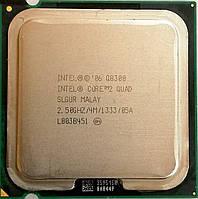 Процессор Intel Core 2 Quad Q8300 R0 SLB5W, SLGUR 2.5 GHz 4 MB Cache 1333 MHz FSB Socket 775 Б/У