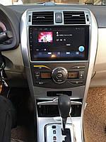 """Штатная Магнитола Toyota Corola 2007-2013 на Android 8.1  Тойота Рав 4 с Экраном 9"""" Память 1/16"""