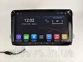 Штатная Магнитола Volkswagen с Android 8.1 с Экраном 9 дюймов  Память 1/16 ГБ