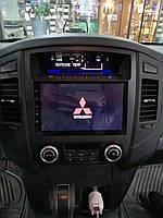 Штатная магнитола Mitsubishi Pagero 2007-2017 г.на базе Android 8.1 Экран 9 дюймов Память 1/16 Гб