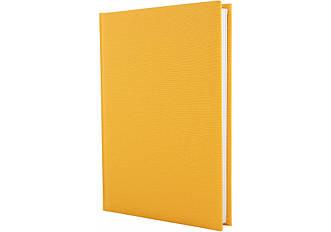 Щоденник недатований, А5 Capys, жовтий лінія