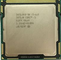 Процессор, Intel Core i5-660, 4 ядра, 3.6 гГц