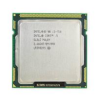 Процессор, Intel Core i5-750, 4 ядра, 3.2 гГц