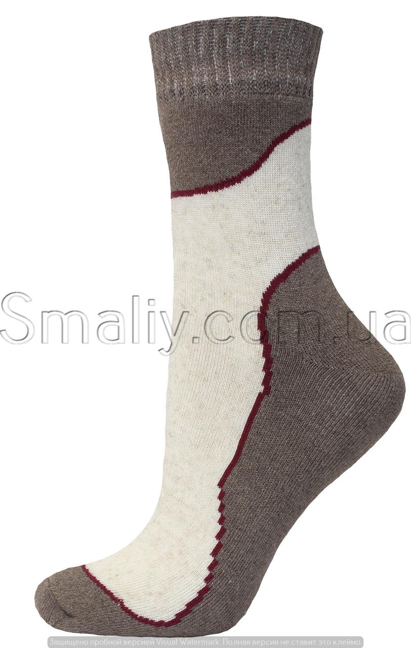 Носки оптом женские махровые из льна